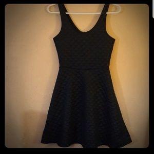 🎁4/ $20 Black quilted tank skater dress